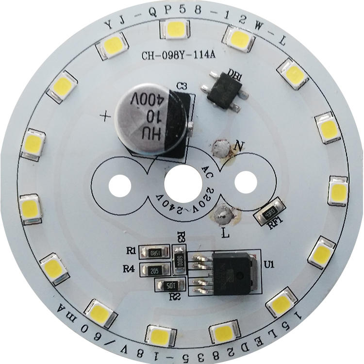 High quality CE LVD Certified No Flickering 110lm/W white smd pcb plate ac lighting 2835 SMD led module for LED Bulb Light