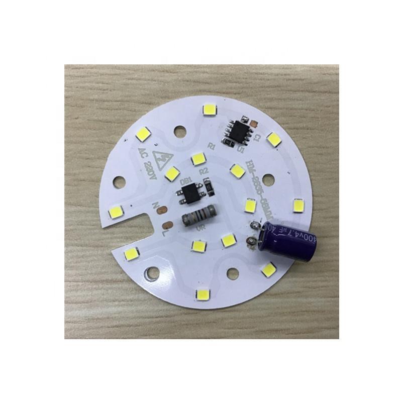 90lm/W High quality 7WRa 70 ac pcb input led module for LEDBulb Light