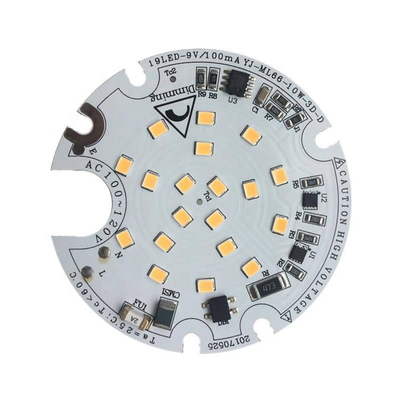 3 years warranty High quality 10WRa94 CE RoHS Certification 120V ac pcb pcba input led module for LED Downlight