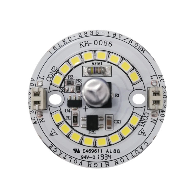 140lm/W High quality 6WRa80 CE RoHs certification 220V ac pcb input led module for LED Ceiling light
