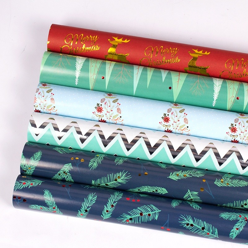 Ecofriendly Large Reversible Wrapping Paper large paper for new year gift