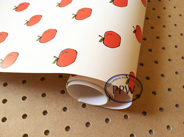 High Quality gift wrapping paper fruit design wrapping paper