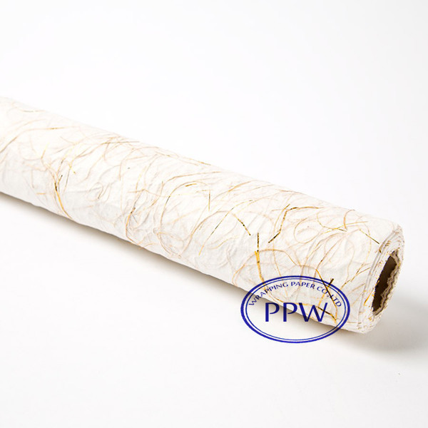 Gift gold Wrapping Paper Organic Paper Factory Wholesale