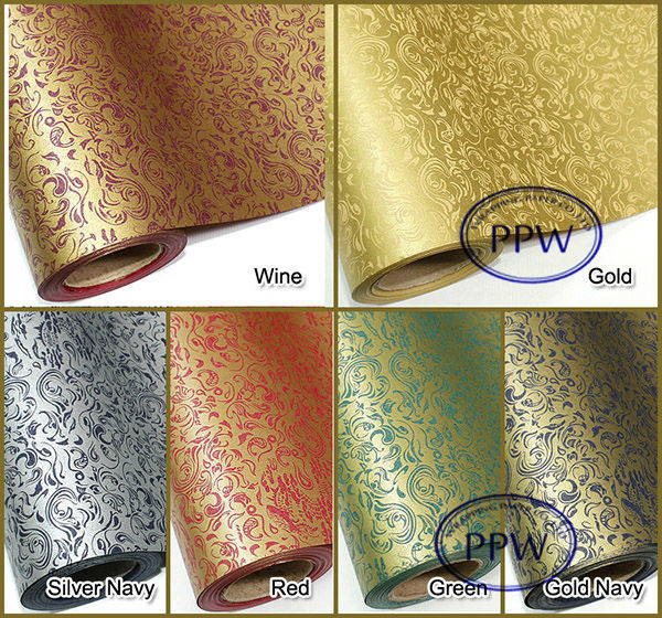 LUX wrapping paper golden wrap rolling paper