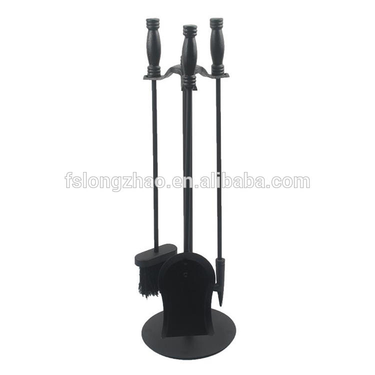 Cast iron Traditional Fireplace Tools Set
