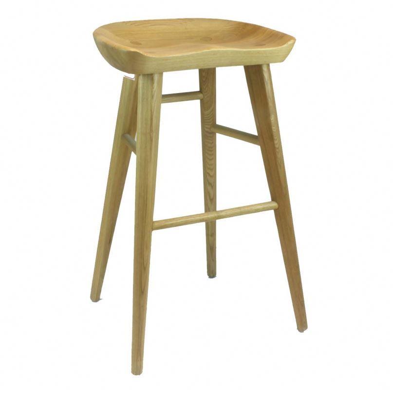 Carven furniture chair bar spoon stool