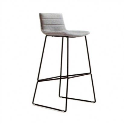 Bar With Footrest Fabric Counter Manufacturer Stool