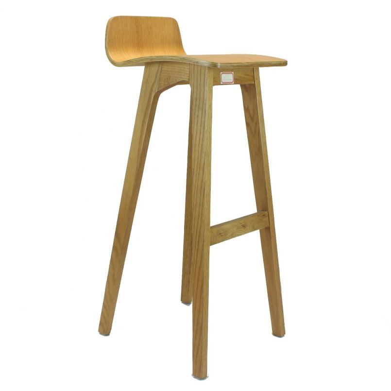Bar Restaurant Furniture Wooble Tin Home With Backrest Stool