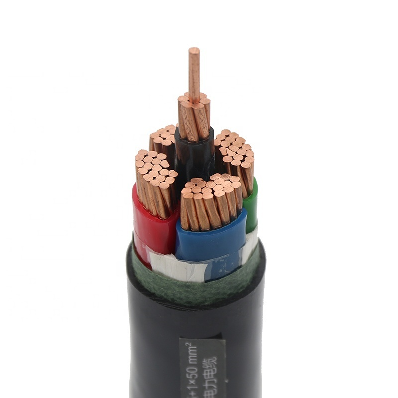 Guangdong Cable Factory 16mm 50mm 4 core cable