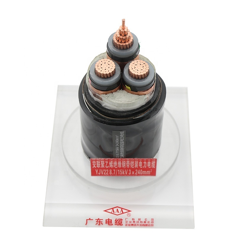 11Kv 1x70mm2 120mm2 400mm2 Power Cable