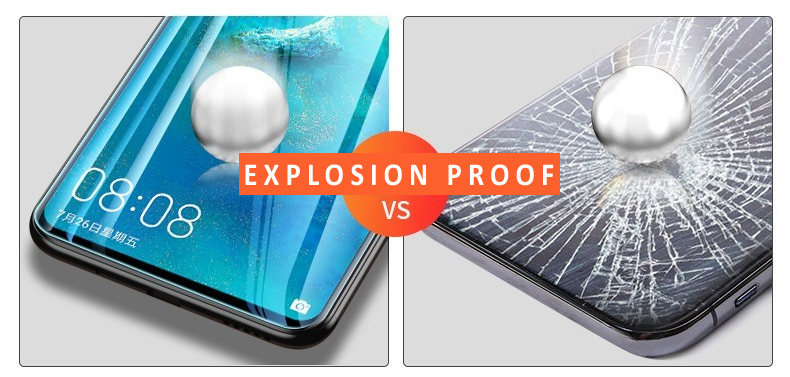 anti scratch auto repair TPU soft hydrogel curved full cover mobile phone screen protection film