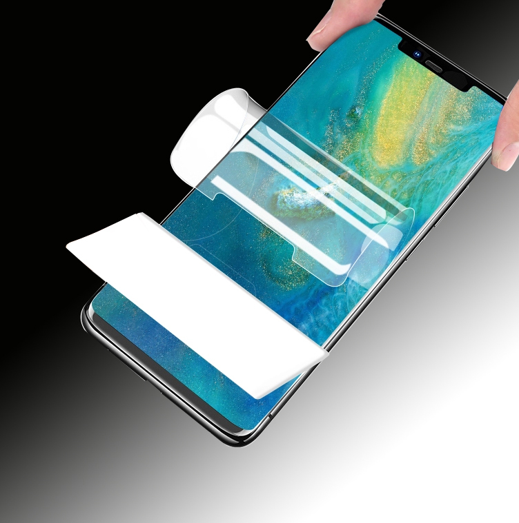 anti scratch TPU soft hydrogel curved full cover mobile phone screen protection film
