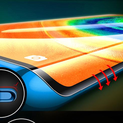 anti scratch TPU soft hydrogel mobile phone screen protection film