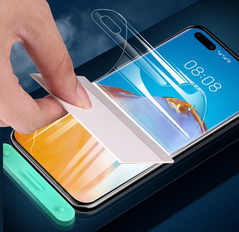 Custom 3D High Quality Mobile Phone Hydrogel Protective Film Not Glass Ultrthin TPU Screen Protector for Samsung Galaxy