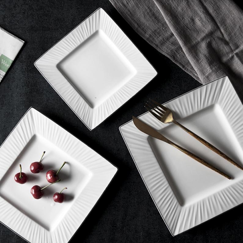 Best Price Silver Rim Dinner Set, Luxury Gold Banquet Crockery Dinnerware, Hotel & Restaurant Bone China Dinner Set Ceramic$