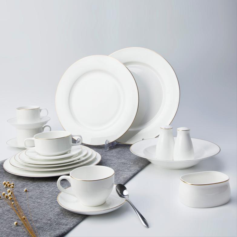 Wholesale bone china dinnerware set, ceramic dinnerware set