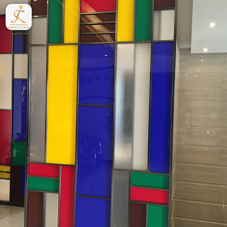 commercial room dividers grill design partition restaurant office full height glass wall metal steel frame partition for room