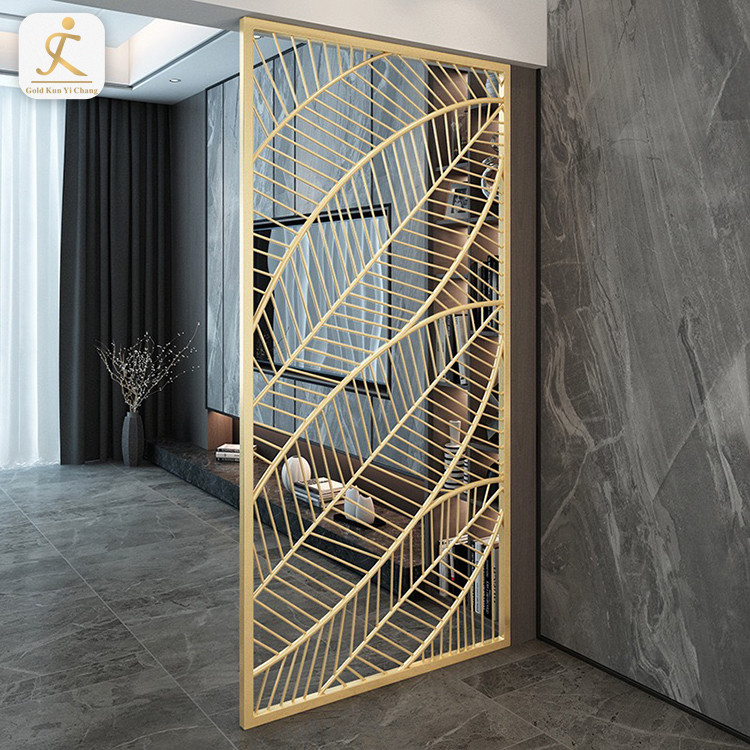 commercial room dividers grill design partition hotel restaurant stainless steel metal room floor to ceiling room dividers