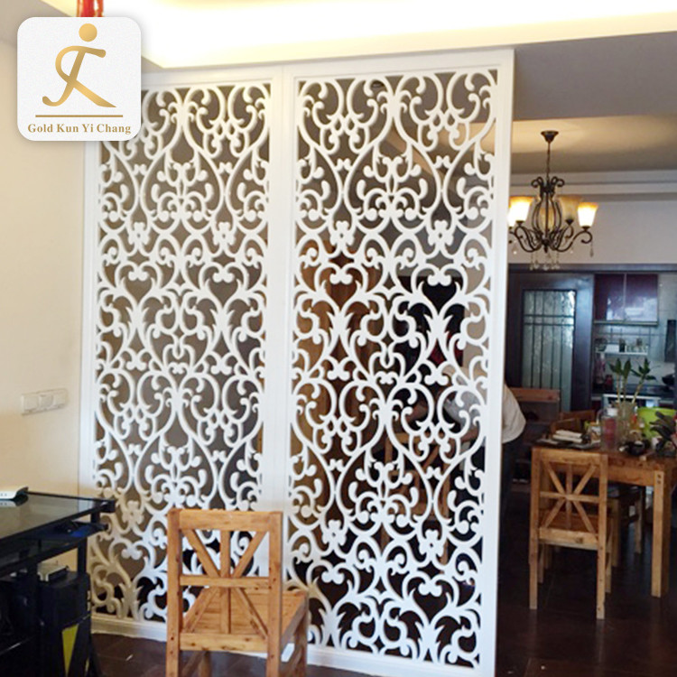 artful stainless steel kitchen living room partition screen 2 4 pieces living room dividers white room wall divider screen
