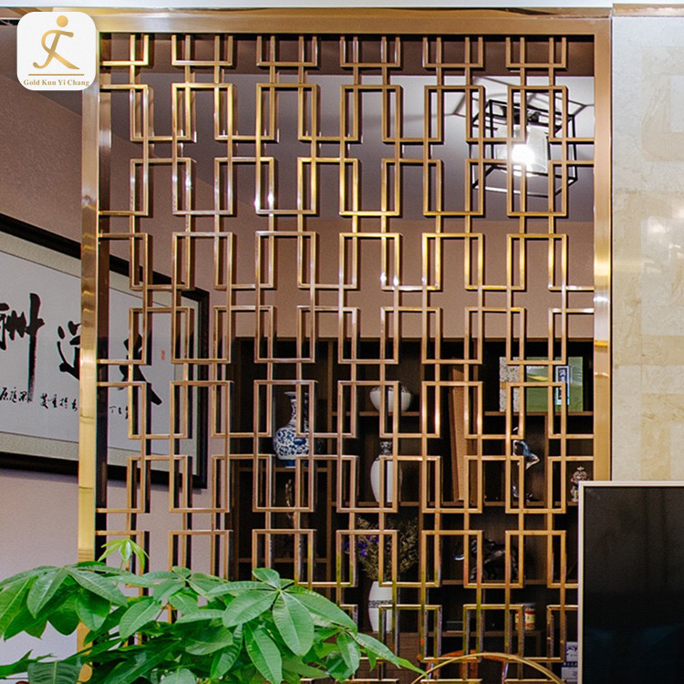 room screen divider singapore malaysia 304 Stainless steel framed room divider panel laser cut metal screen partition