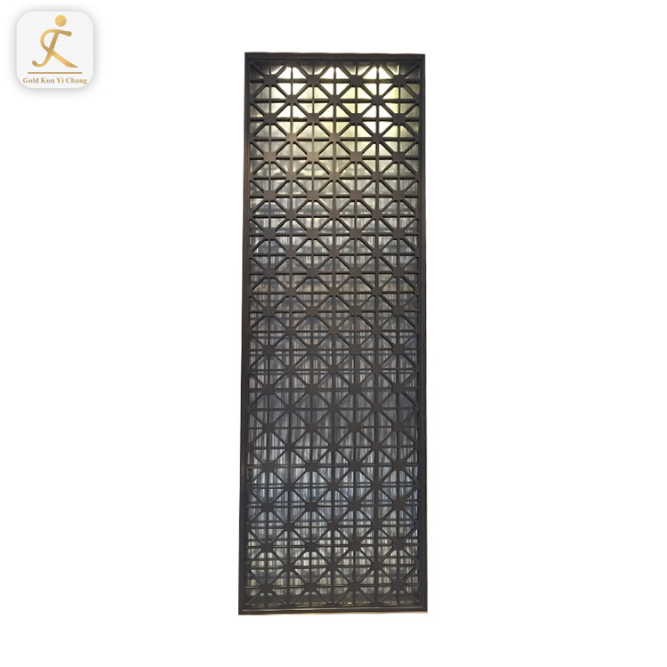 unique commercial metal clear room partition dividers modern design metal 304 stainless steel screen indoor room divider