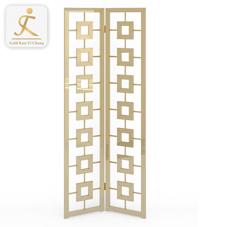 custom design stainless steel hanging room divider decorative furniture folding screen room divider partition