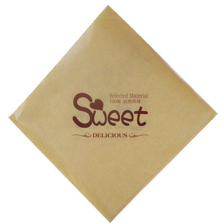 Wrap Burger Aluminum Printed Oil Proof Packaging Foil Sandwich Pocket Food Grade Paper