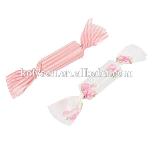 Kolysen Custom printed Food Grade Waxed packing Candy Wrapping paper