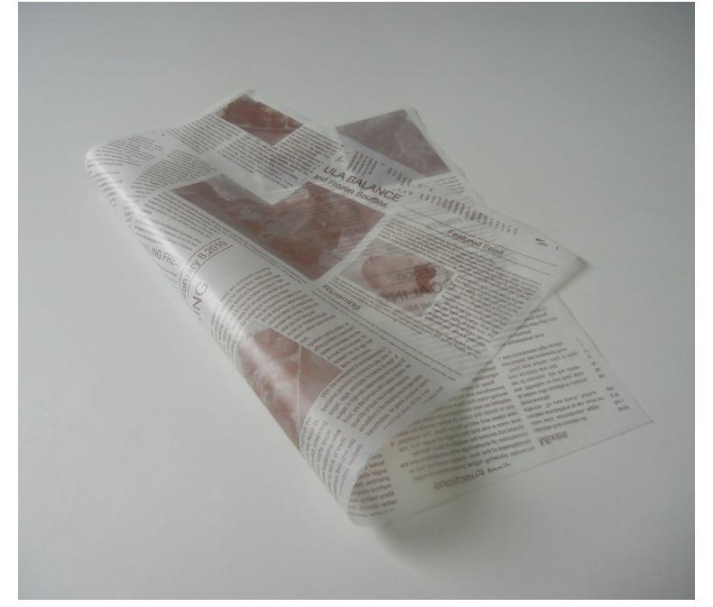 Custom Logo Printedhamburger packaging paper