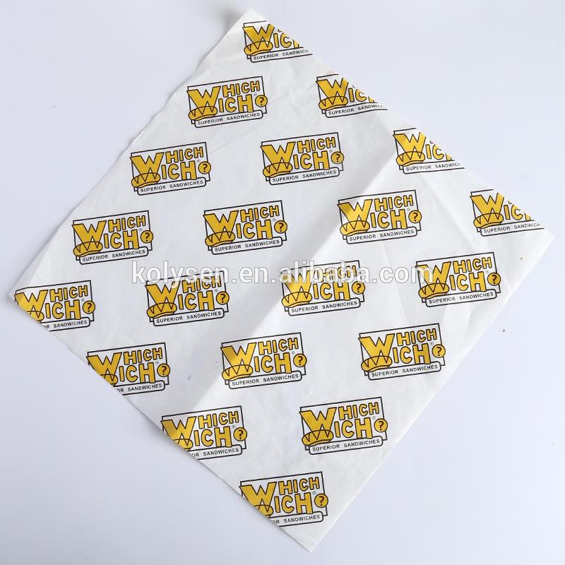 Custom Deli Sandwich Wrapping Paper