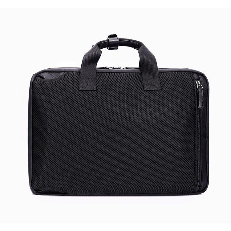 Custom China Supplier Design Minimalist business men 900D polyester backpacks waterproof laptop bag 2 Ways man boys briefcases