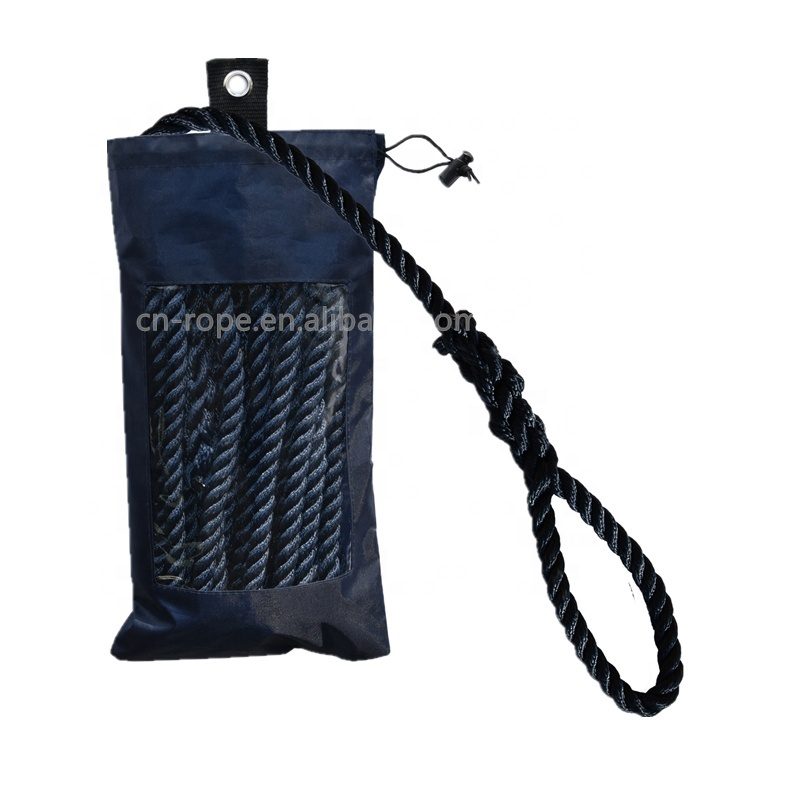 China Supplier High Quality Marine Cord Mooring Rope Boat Yacht Fender Line