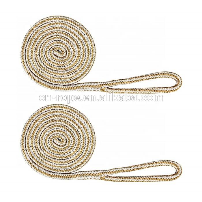 Hard Wearing Marine Rope for Boat Mooring Fender Line with 5'' Spliced Eye Cordage