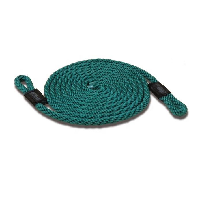 yachting ropefender rope 10mm 1.8m polyester fender line for fender