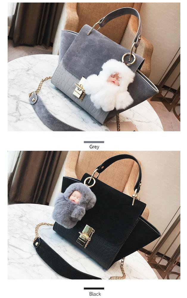china wholesale professional manufacturer pendant leather fashion chain handbag