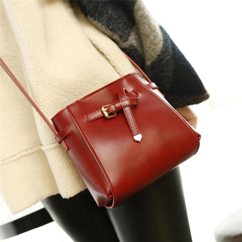 British Fashion Simple Small Square Bag Women's Designer Handbag High-quality Pu Leather Chain Mobile Phone Shoulder Bags