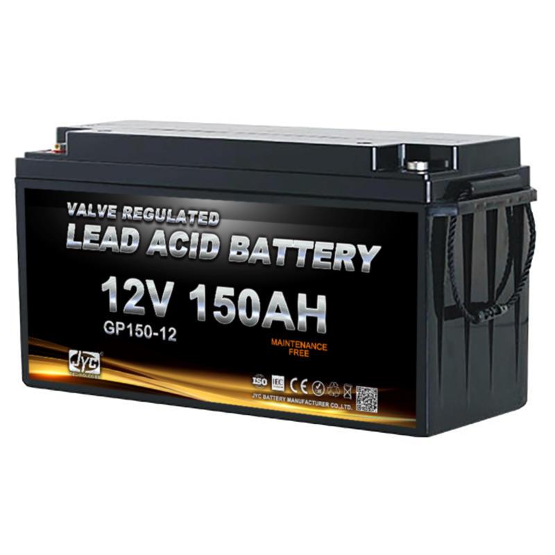 Maintenance Free Sealed Deep Cycle Battery 12v 150ah 1S2P Form 24v 150ah Lead Acid Battery