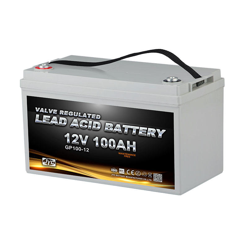 Maintenance Free Sealed Solar Gel Battery 12v 100ah Lead Acid Battery