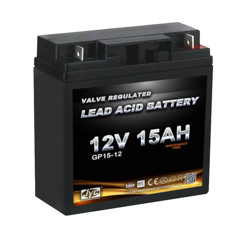 Maintenance Free Sealed Lead Acid Battery 12v 15ah 20hr Gel Battery for UPS