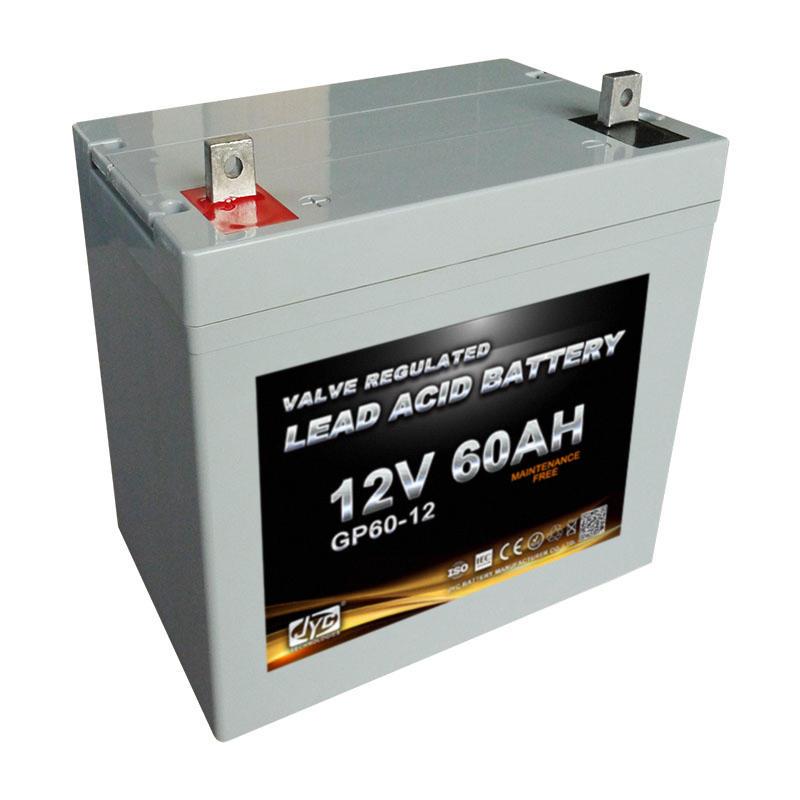 Green Maintenance Free Battery Charger 12v 60Ah Lead Acid Batteries