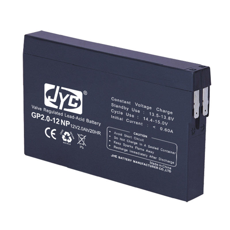 Big capacity sealed lead acid 12v 2ah emergency lighting battery