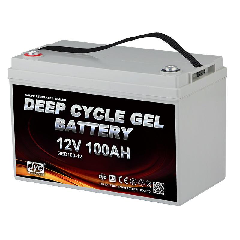JYC Deep Cycle Battery 12V 80Ah 85Ah 90Ah 95Ah 100Ah Lead Acid Battery Home Batteries GEL AGM Price