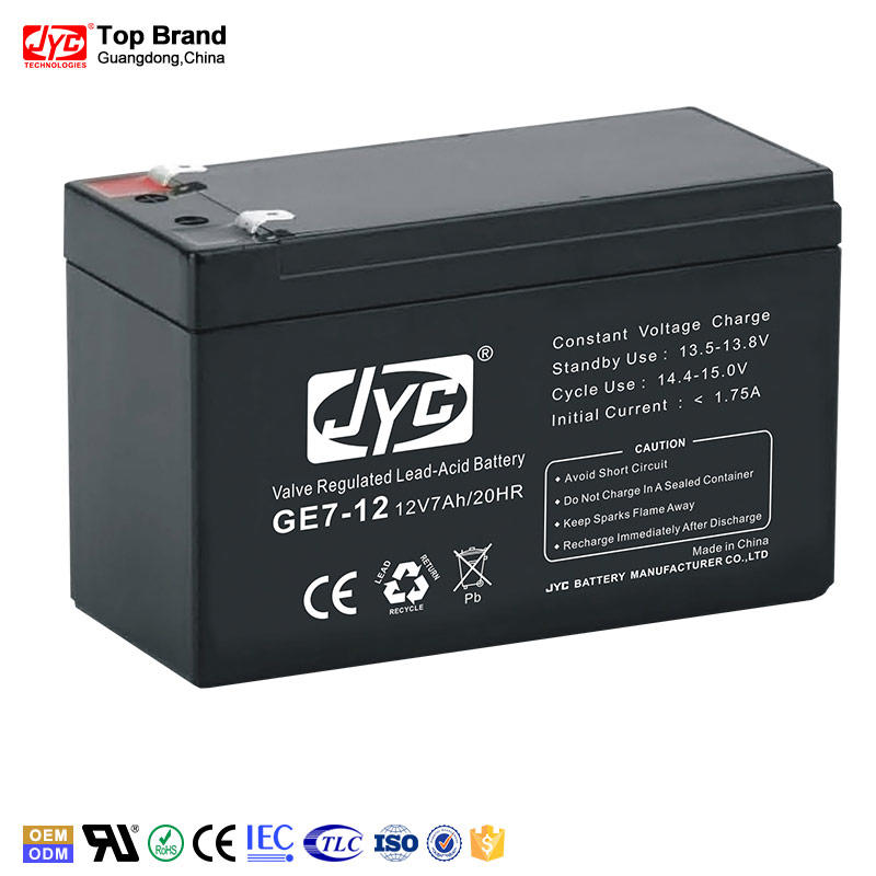competitive quality sealed lead acid ups battery 12v7ah