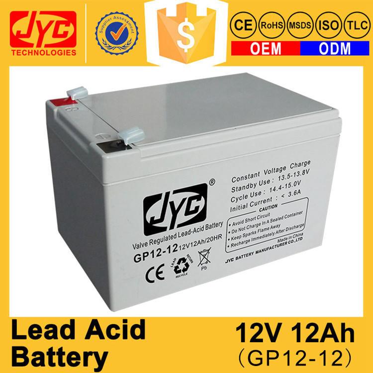 Solar Gel Battery 12v 12ah 20hr Lead Acid Battery for UPS