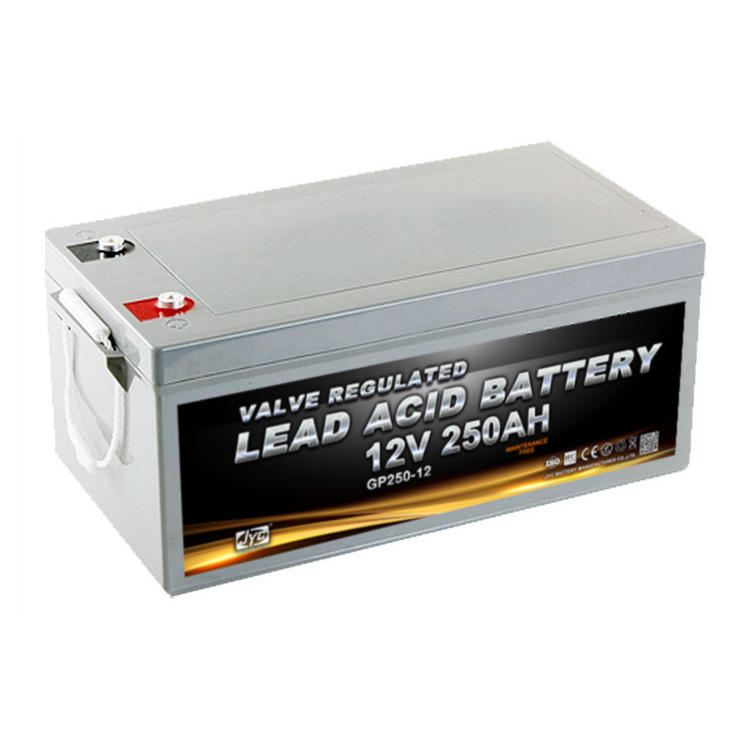 12V 250Ah Maintenance-Free Msds Sealed Lead Acid Solar Battery With High Capacity