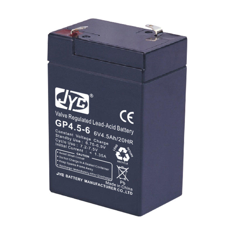 Sealed 6v 4ah 20hr Valve Regulated Rechargeable Lead Acid Battery Best Trade Assurance Small Size Free ABS JYC Battery