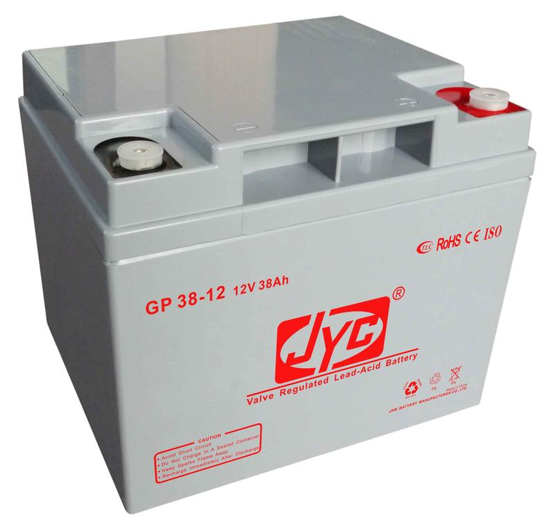 2018 Top Brand price 38ah 12 volt lead acid power road battery