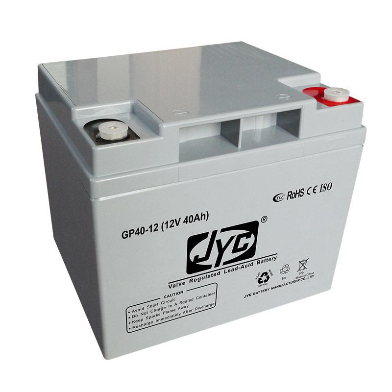 Long Life AGM VRLA Battery Valve Factory Wholesale 12V 40AH Toys Power Tools Home Appliances Solar Energy Storage Systems