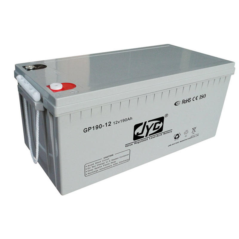 Exceptional quality sealed maintenance free sealed lead acid 12v 190ah battery