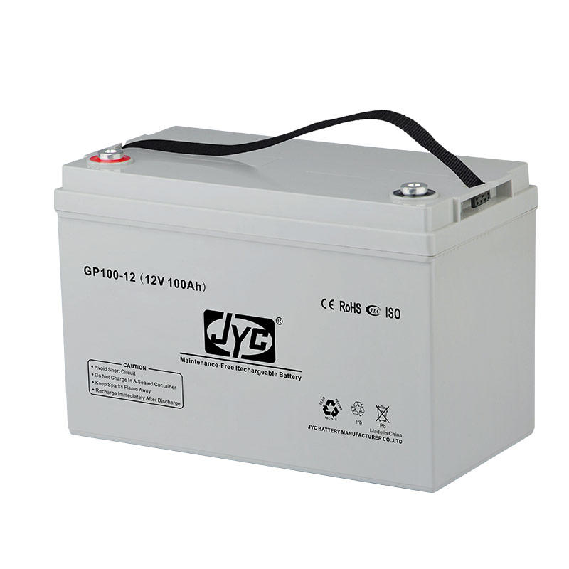 Maintenance Free Sealed Deep Cycle Gel Battery 12v 100ah Lead Acid Battery for UPS/Solar system/Backup